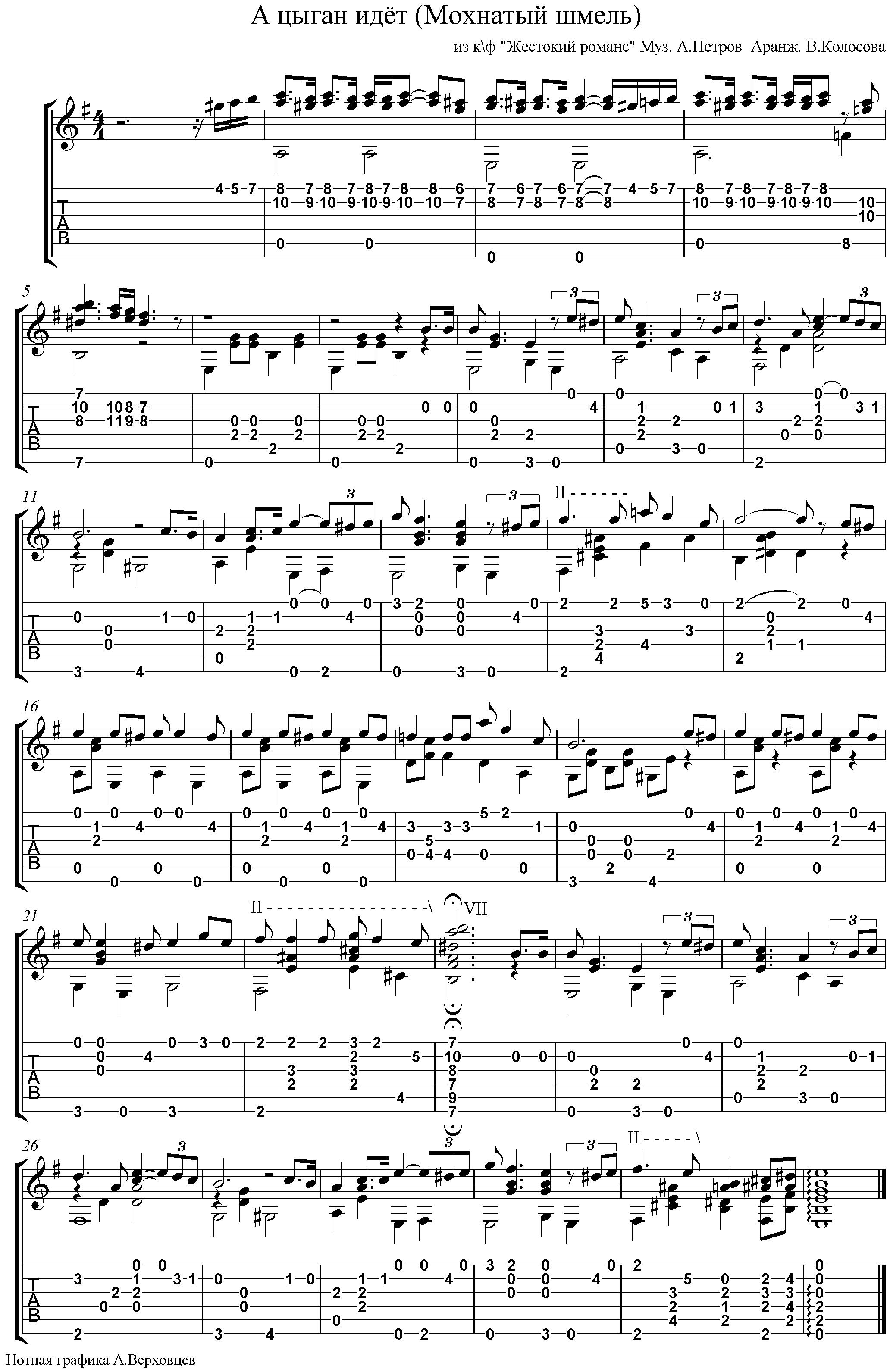 Скачать мелодию цыган