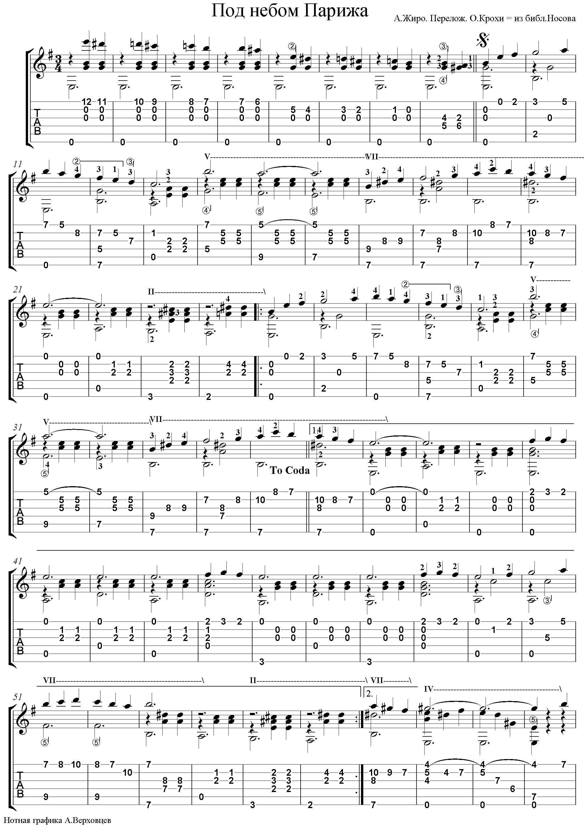 ноты для аккордеона вальс мой ласковый и нежный зверь